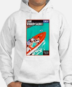 New Hampshire Travel Poster 2 Hoodie