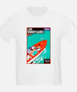 New Hampshire Travel Poster 2 T-Shirt