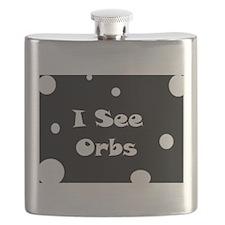 I See Orbs Flask