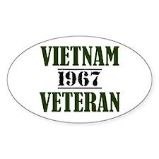 VIETNAM VETERAN 67 Decal