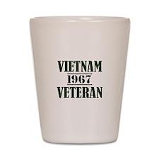 VIETNAM VETERAN 67 Shot Glass