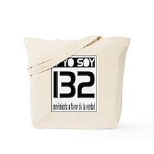 Yo Soy 132 Block Tote Bag