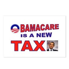 OBAMACARE TAX.jpg Postcards (Package of 8)
