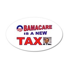OBAMACARE TAX.jpg Wall Decal