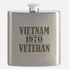 VIETNAM VETERAN 70 Flask