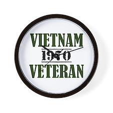 VIETNAM VETERAN 70 Wall Clock