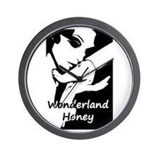 Wonderland Honey Wall Clock