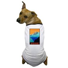 KashmirTravel Poster 3 Dog T-Shirt