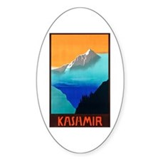 KashmirTravel Poster 3 Decal