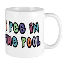 I Pee In the Pool Mug