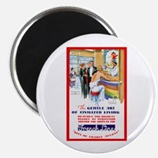 "France Travel Poster 6 2.25"" Magnet (10 pack)"