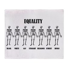 Equality Throw Blanket