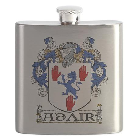 Adair Coat of Arms Flask