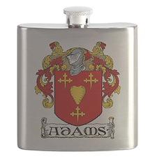 Adams Coat of Arms Flask