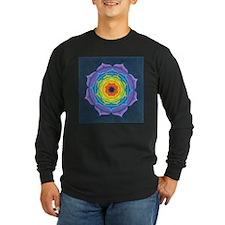Rainbow Lotus Mandala T