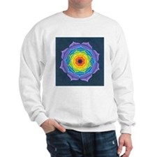 Rainbow Lotus Mandala Sweater