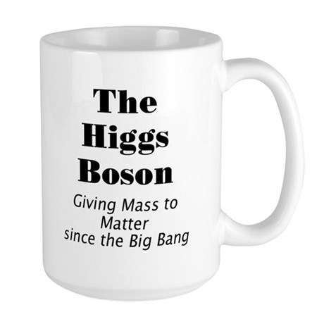The Higgs Boson Large Mug
