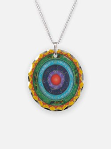 Gypsy Wagon Chakra Mandala Necklace