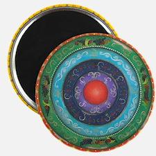Gypsy Wagon Chakra Mandala Magnet
