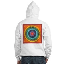 Gypsy Wagon Chakra Mandala Hoodie Sweatshirt