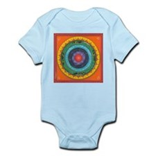 Gypsy Wagon Chakra Mandala Infant Bodysuit
