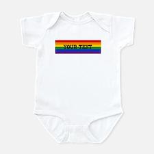 Personalize Rainbow Infant Bodysuit