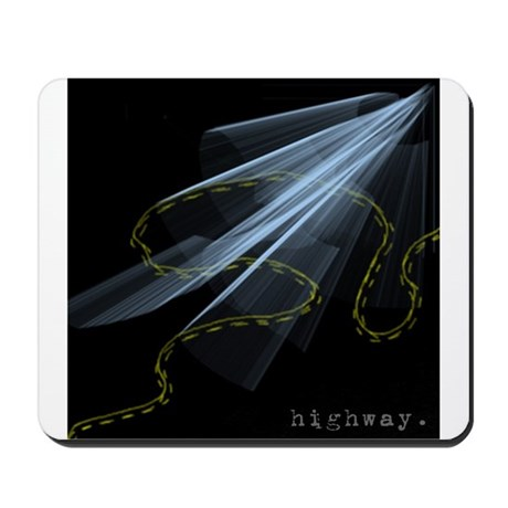 Highway. Mousepad