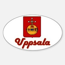 Uppsala Oval Decal