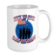 Back to Back World War Champs Mug