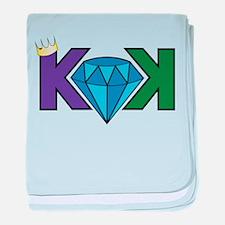 KingKushLOGO baby blanket