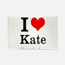 I heart Kate Magnet