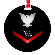 Navy PO3 Operations Specialist Ornament