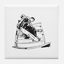 Skateboarding Skateboarder Tile Coaster