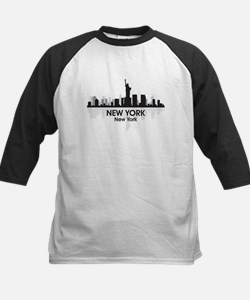 New York Skyline Kids Baseball Jersey