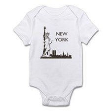Retro New York Infant Bodysuit