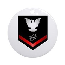 Navy PO3 Electronics Technician Ornament (Round)