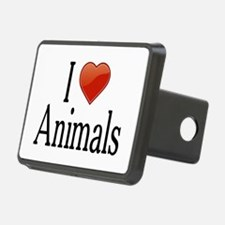I Love Animals Hitch Cover