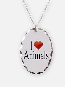 I Love Animals Necklace