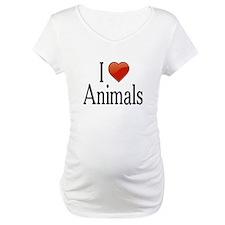 I Love Animals Shirt