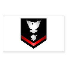 Navy PO3 Personnelman Decal