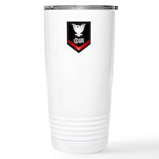 Navy PO3 Postal Clerk Travel Mug