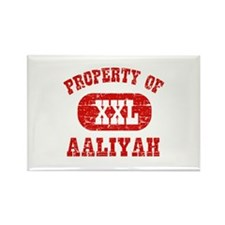 Property Of Aaliyah Rectangle Magnet