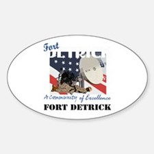 Fort Detrick with Text Decal
