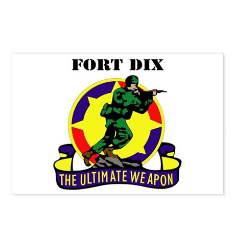 Fort Dix with Text Postcards (Package of 8)