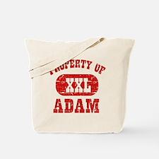 Property Of Adam Tote Bag