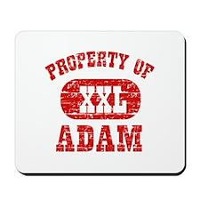 Property Of Adam Mousepad