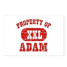 Property Of Adam Postcards (Package of 8)