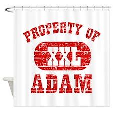 Property Of Adam Shower Curtain
