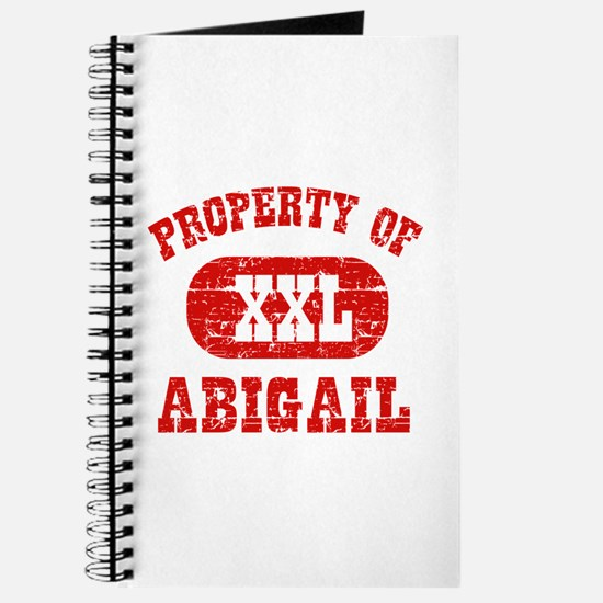 Property Of Abigail Journal