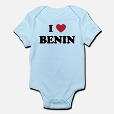 I Love Benin Infant Bodysuit